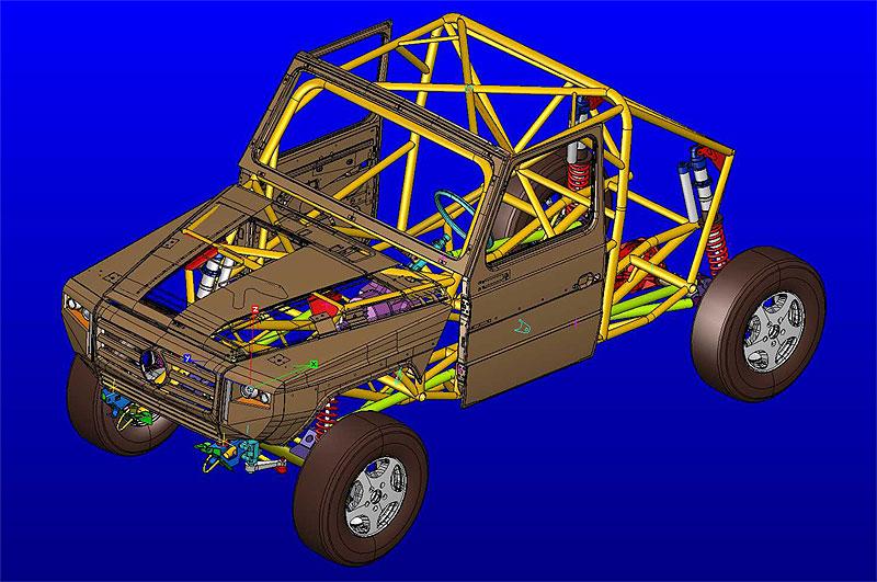 lennson cc neues rallyraid kit car auf mercedes g basis. Black Bedroom Furniture Sets. Home Design Ideas
