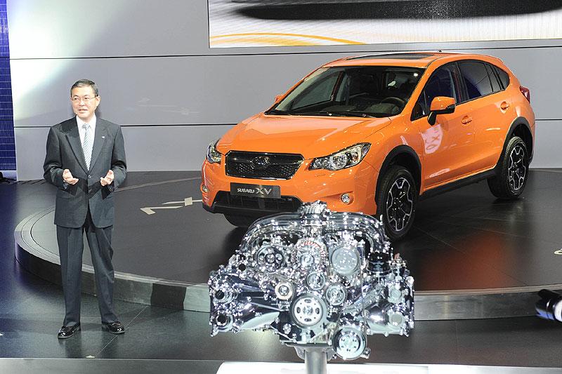 Subaru представила компактный крос…