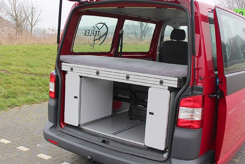 reisen camping terra camper stellt teflex system. Black Bedroom Furniture Sets. Home Design Ideas