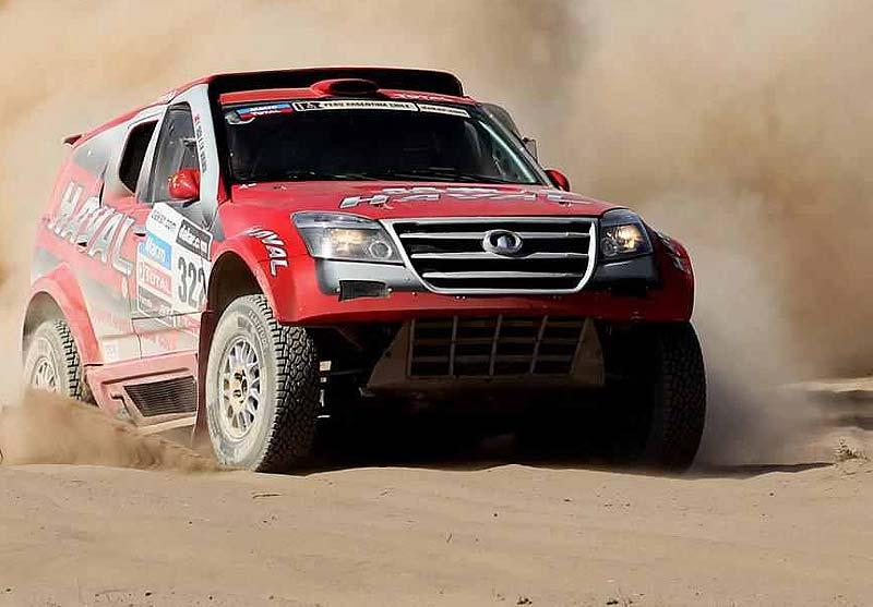 The Dakar 2014 - 131205 greatwall 1